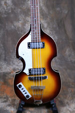 Hofner B-Bass Left hand Electric Bass Guitar Original Made In China Hollow Body