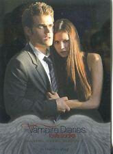 Vampire Diaries Season 4 Silver Parallel Base Card #12 In Harm?s Way
