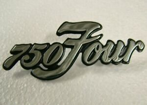 750 FOUR SIDE COVER BADGE for Honda CB750 K1 K2 K3 K4 K5 72 73 74 75 Emblem HS06