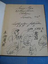 THOMSON Vie CAMPAGNE ANGLAISE 1942Illustré + DESSINS ORIGINAUX PEINTRE INNES-MEO