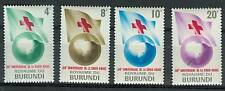 CROCE ROSSA - RED CROSS CENTENARY BURUNDI 1963 set A