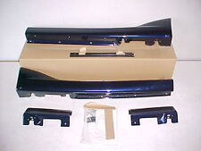 00 - 05 Mazda Miata small side sills Strato Blue OEM NEW ground effects