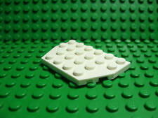 Lego NEW white 4 x 6 plate wedge   Lot of 2
