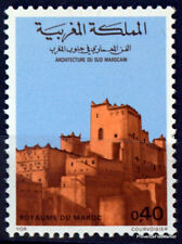 51596 Postal History: Maximum Card Architecture 1957 Morocco