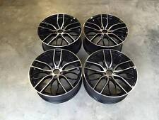 "20"" 405M Performance Style Wheels Gloss Black Machined BMW E90 E91 E92 E93 5x120"