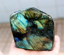 363g NATURAL Labradorite The moonlight gem Great Shine / Fire Stone