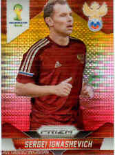 2014 World Cup Prizm Yellow Red Parallel No.164 S.IGNASHEVICH (RUSSIA)