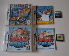 NINTENDO DS 3DS 2DS XL LITE DSI  GAME BUNDLE JOB LOT PING PALS BRAIN ASSIST KIDS
