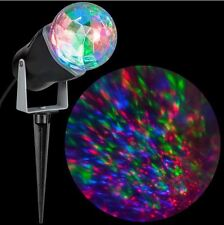 10.24 in. Kaleidoscope Projection (RGB) ,light show,Halloween Decro, Multicolor
