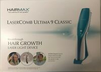 HairMax Ultima 9 Classic LaserComb Cordless & Lightweight Hair Growth Device NEW