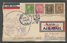 1931 First Flight Air Mail Route AM 20 - Fort Worth Texas Cancel