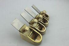 Brand New 4pcs Violin viola making tool Mini brass convex planes diffrent size