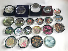 More details for 21 paperweights scotland birds cats unicorn horses flowers paintings tiger other
