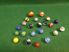 Lot of 22 Vintage Marbles