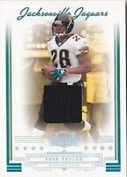 FRED TAYLOR 2006 THREADS #18 JERSEY #08/25 FB3661