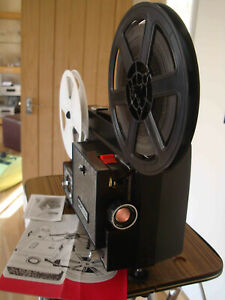 Chinon Duo 100 Dual SUPER 8 8MM VARIABLE SPEED CINE PROJECTOR Fully serviced