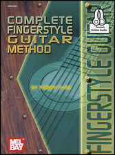 Complete Fingerstyle Guitar Method TAB Music Book with Audio Learn How To Play
