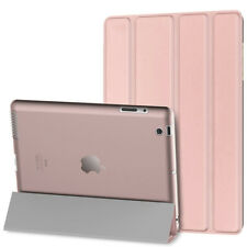 For Apple iPad 2/3/4th Gen Magnetic Leather Folio Case Stand Cover Wake/Sleep