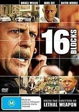 16 BLOCKS Bruce Willis, Mos Def & David Morse DVD NEW