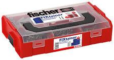 fischer FIXtainer Die SX-Dübel + Schrauben BOX Dübel Sortimentsboxen Stapelboxen