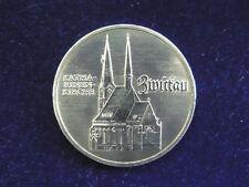 DDR.  5 Mark, 1989 A, Zwickau, Cu/Ni/Zn.! orig.! St.!