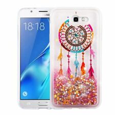 For Samsung Galaxy J7 2017 SKY Pro Bling Hybrid Liquid Glitter Rubber Case Cover