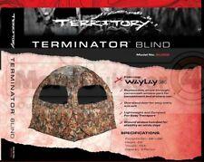 Bl002 Barronett Blinds Territory Terminator Waylay 2 Man Waylay Hub Blind
