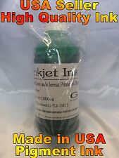 1 green pigment bulk ink for EPSON surecolor p7000 p9000 refill inkjet cartridge