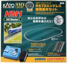 Kato 3-105 HM1 R670mm Basic Oval Track Set w/Power Pack Standard SX (HO scale)
