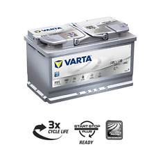 Batteria auto VARTA F21 AGM 80AH 800A cod. 580901080 Start-Stop Battery 115AGM