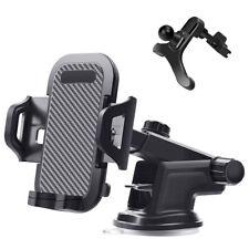 Car Phone Holder Dashboard Windscreen Cradle 360 GPS Stand Mount Universal