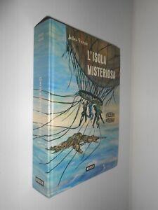 L'ISOLA MISTERIOSA Jules Verne EDIZIONE INTEGRALE MURSIA 1978 OTTIMO STATO