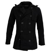Maenner Trenchcoat Winter lange Jacke zweireihig Mantel CN XXL(US L) MA