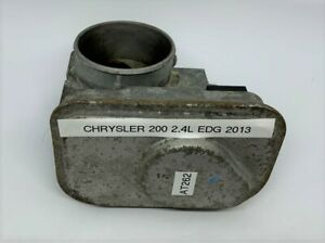 OEM 08-17 Chrysler 200 2.4L EDG Engine Throttle Body Valve Assembly Dodge Jeep