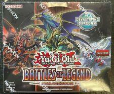 KONAMI YU-GI-OH BATTLE OF LEGENDS ARMAGEDON FACTORY SEALED BOOSTER BOX 24 PACKS