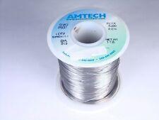 4300 Amtech Solder Wire Sn63 Pb37 Tin Lead 015 22 Flux Core 10oz Partial