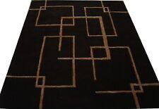 India Hand Tufted Modern Custom Bespoke Wool Viscose Art Silk Carpet Area Rug