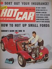 Hot Car magazine 05/1968 Issue 2 featuring Mini Jem, MG, Sunbeam Stiletto
