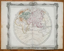 Brion: Original Decorative Map Eastern Hemisphere Asia Australia - 1768(NS)
