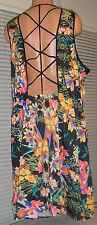 Wet Seal Plus Floral Strapback Dress,  3X  NEW  NWT