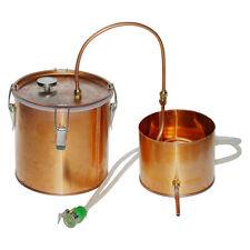 3 Gallon Home Brewing DIY Copper Water Distiller Moonshine Still
