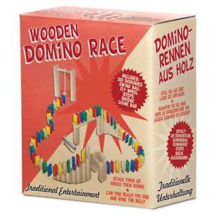 Tobar 00435 Wooden Domino Race - 200 Wooden Tiles