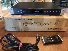 Emotiva XDA-1 Digital Analog Converter DAC with remote, cable and original box
