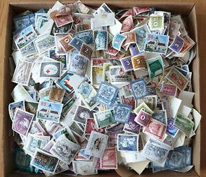 1 Kilo Österreich Papierfrei mit vielein Freimarken