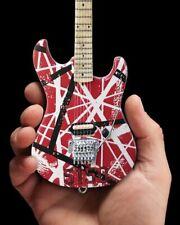 Eddie Van Halen Mini Guitar Red 5150 Axe Heaven EVH004 Miniature Red White