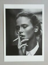 Girl with a cigarette by Jurij Treskow print Signed photography portrait BW