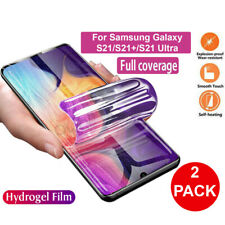 2pcs HYDROGEL Screen Protector For Samsung Galaxy S21 Ultra S21+ Plus Soft Film