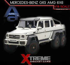 AUTOART 76303 1:18 MERCEDES BENZ G63 AMG 6X6 WHITE
