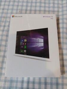 Windows 10 Pro 32/64 Bit ENG International FQC-08789 USB 3.0 BRAND NEW - W10