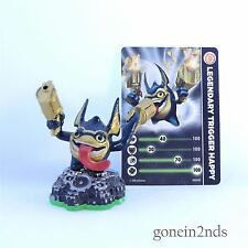Skylanders Spyros Adventure Legendario Trigger happy+card trampa team/superchargers